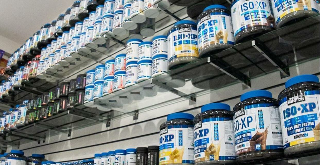 NEW SUPPLEMENT STORE OPENS INSIDE DEDICATED FITNESS XL GYM
