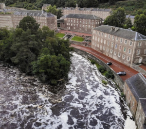 Robert Owen's New Lanark Village