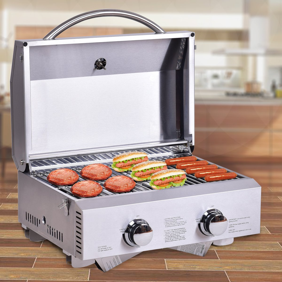 electric barbecue grill