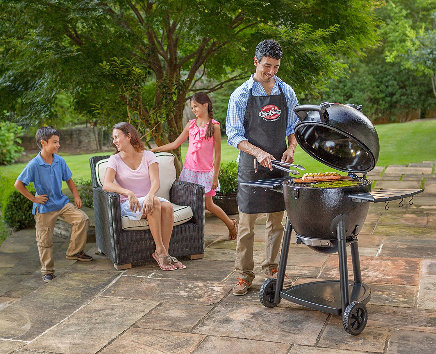Grilling in your Backyard.