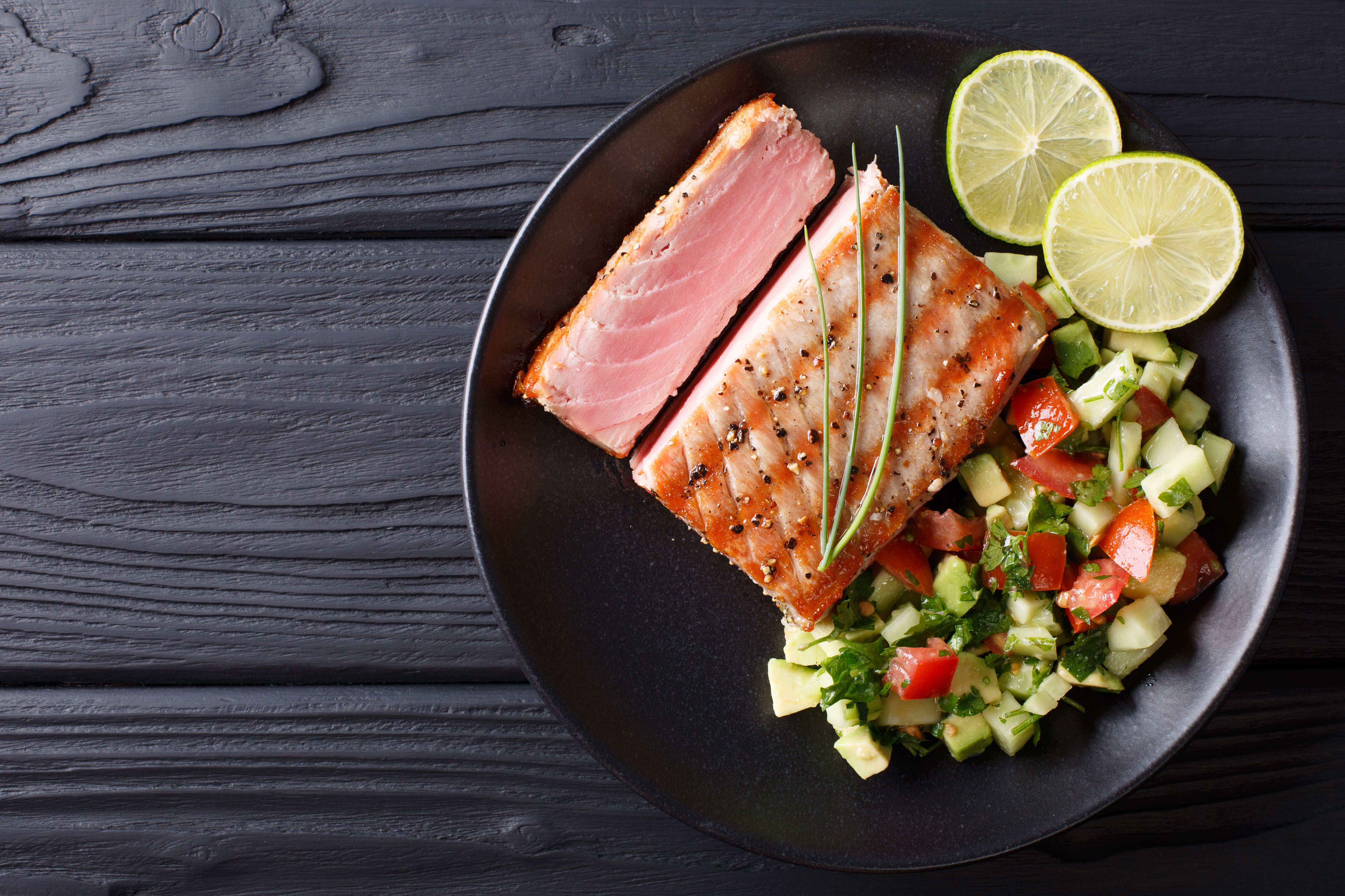 How to Grill Tuna
