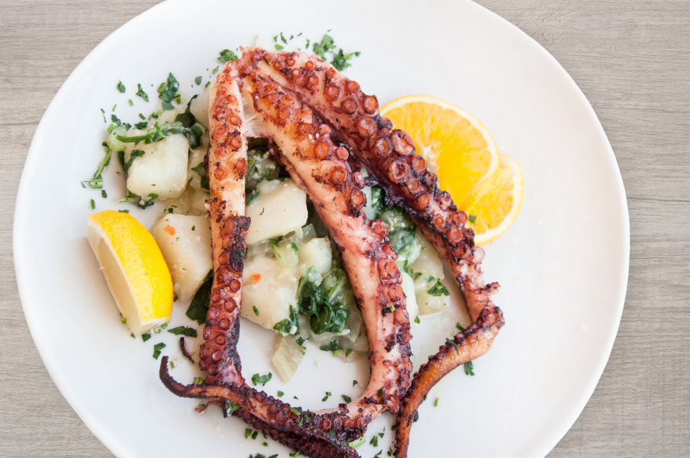 How To Grill Octopus