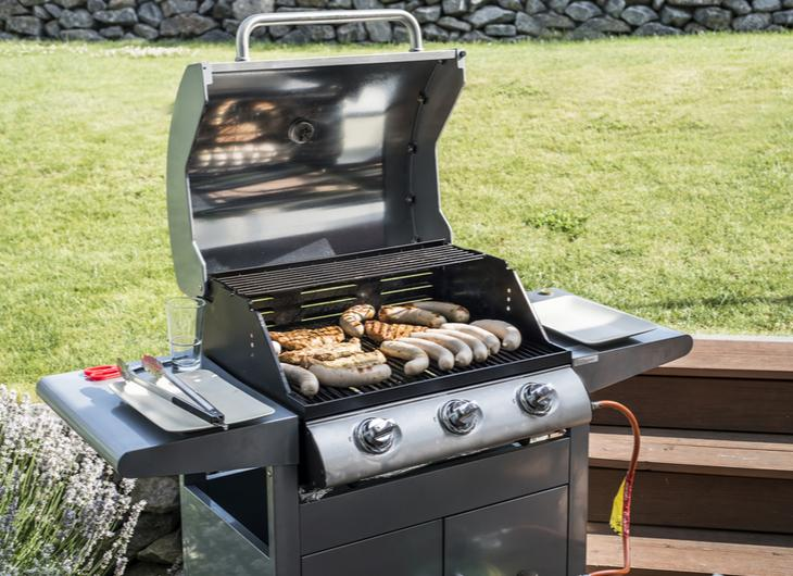 Grill With The Lid Open or Closed