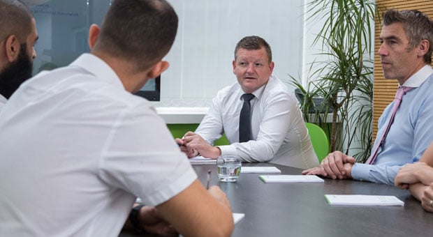 Our team at work - Support Tree IT Support in London