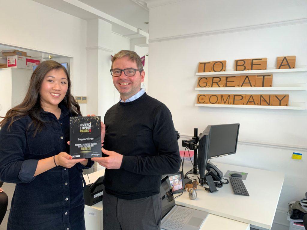 Support Tree CEO and Marketing with SDI 19 Award