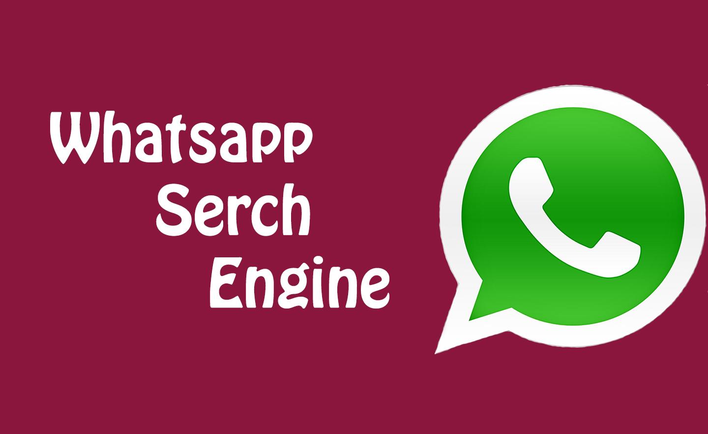 Whatsapp Search engine