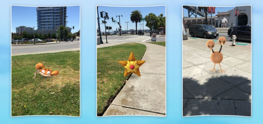 Pokemon Go Without Move