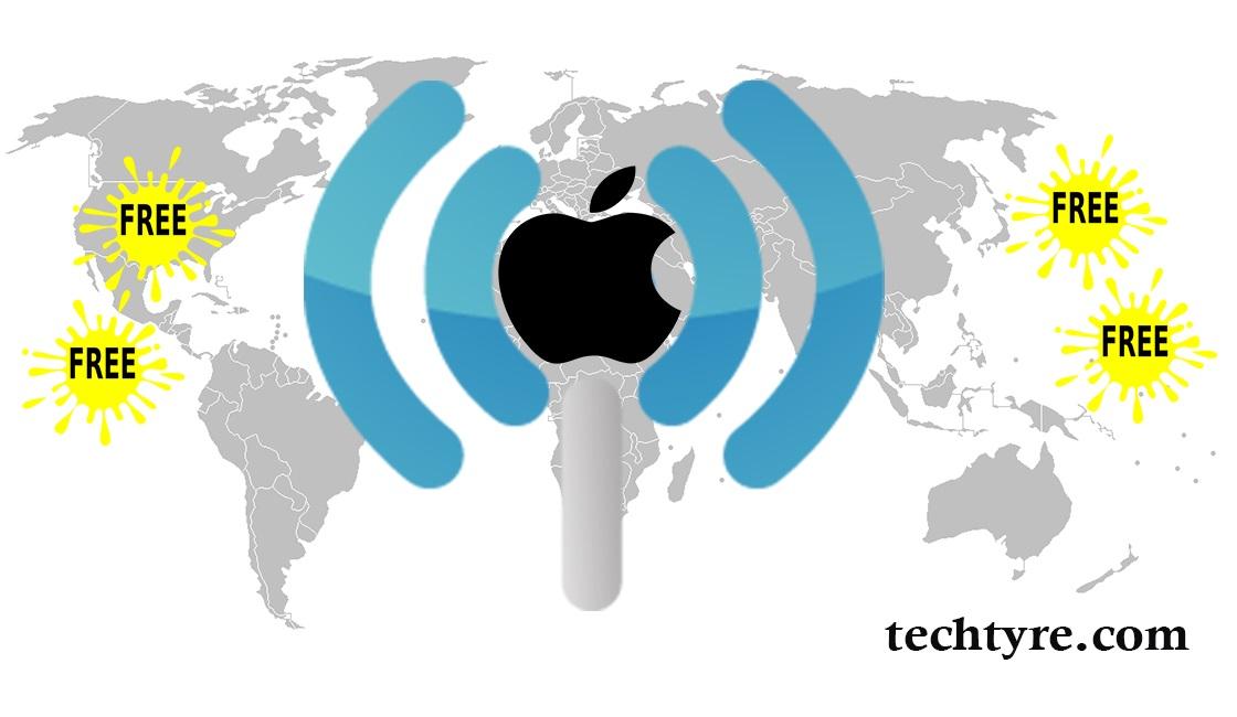 free internet using apple apps