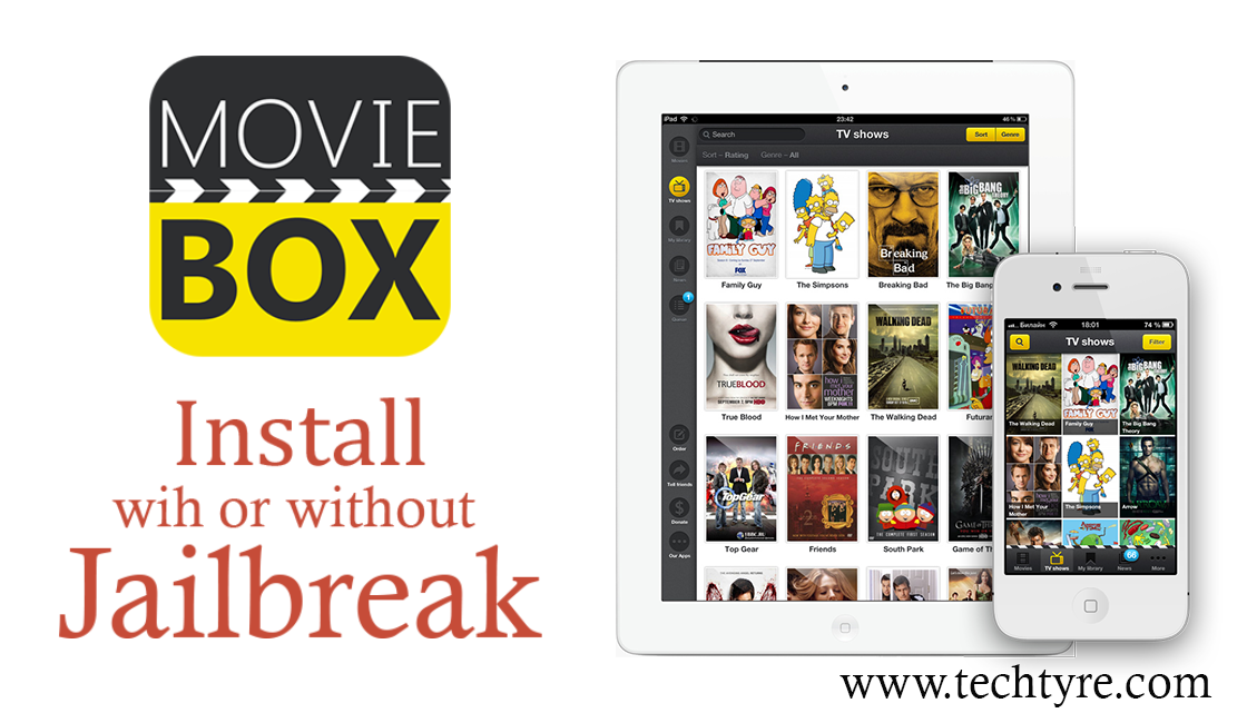 Install Movibox without Jailbreak