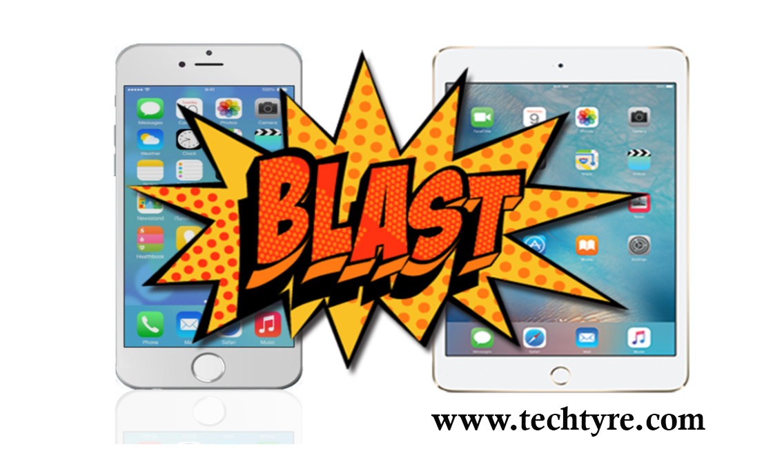 Why IPhone And IPad Blast And Solution