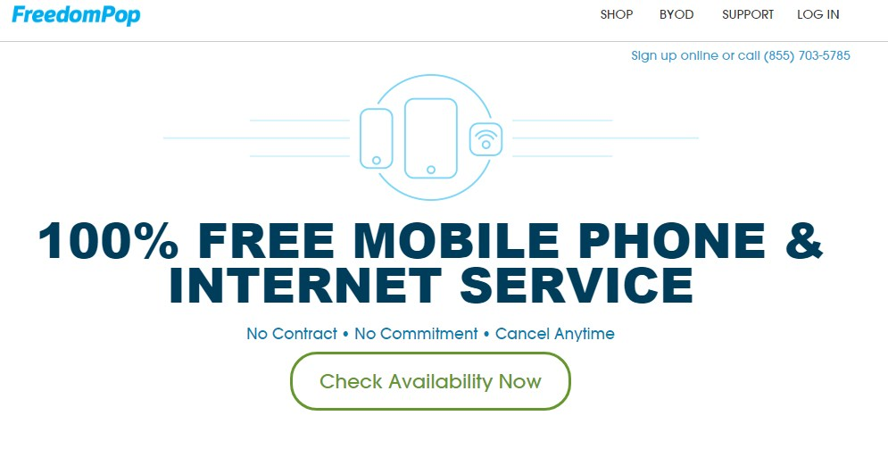 FreedomPop for Free Internet