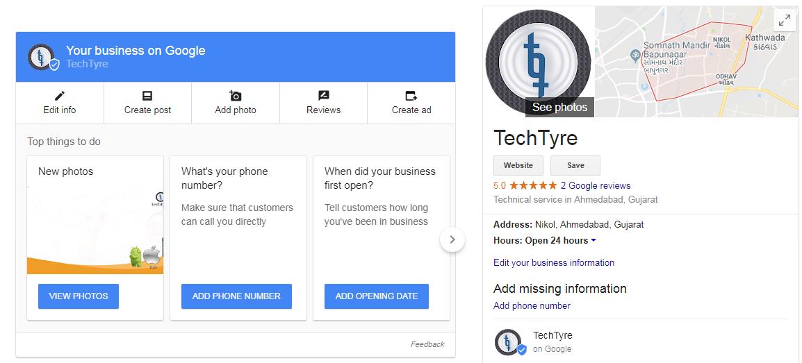 Benefits of Google Map verification