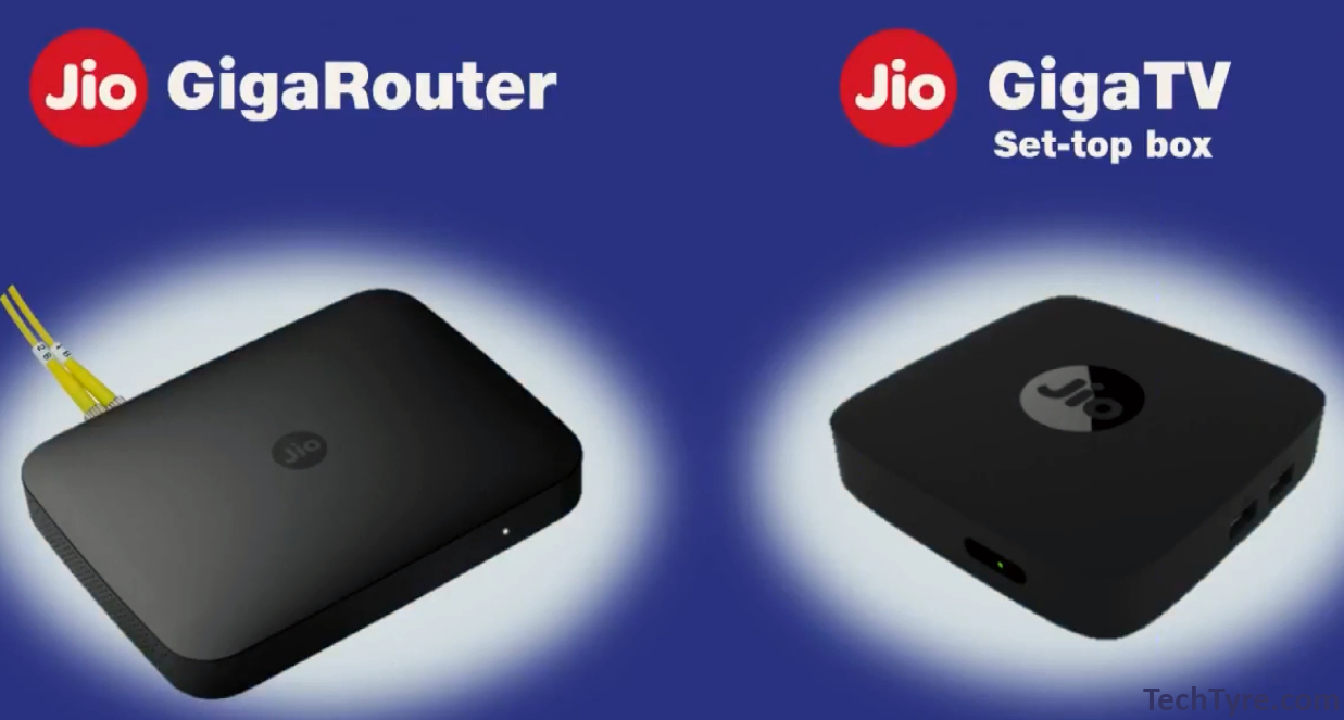 JioGigaFiber and Set-top box