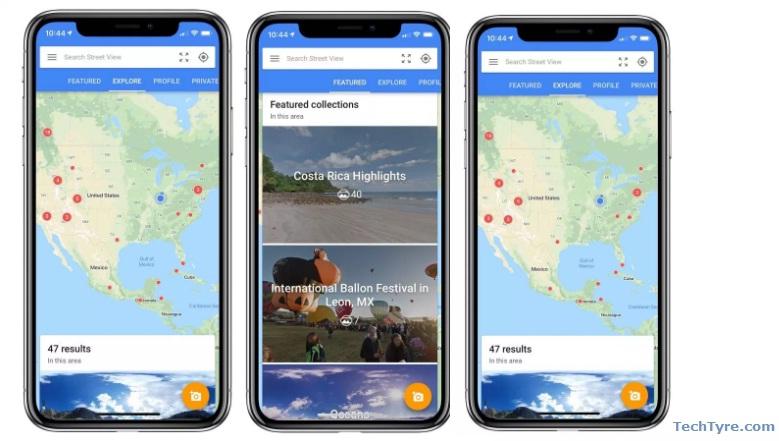 Street View App Update Iphone X
