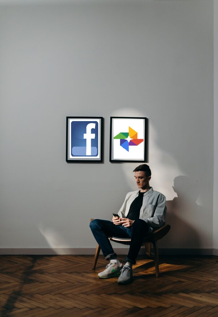 Facebook photos transfer