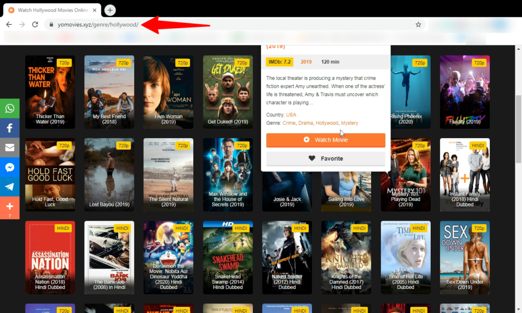 top apps and website for movies