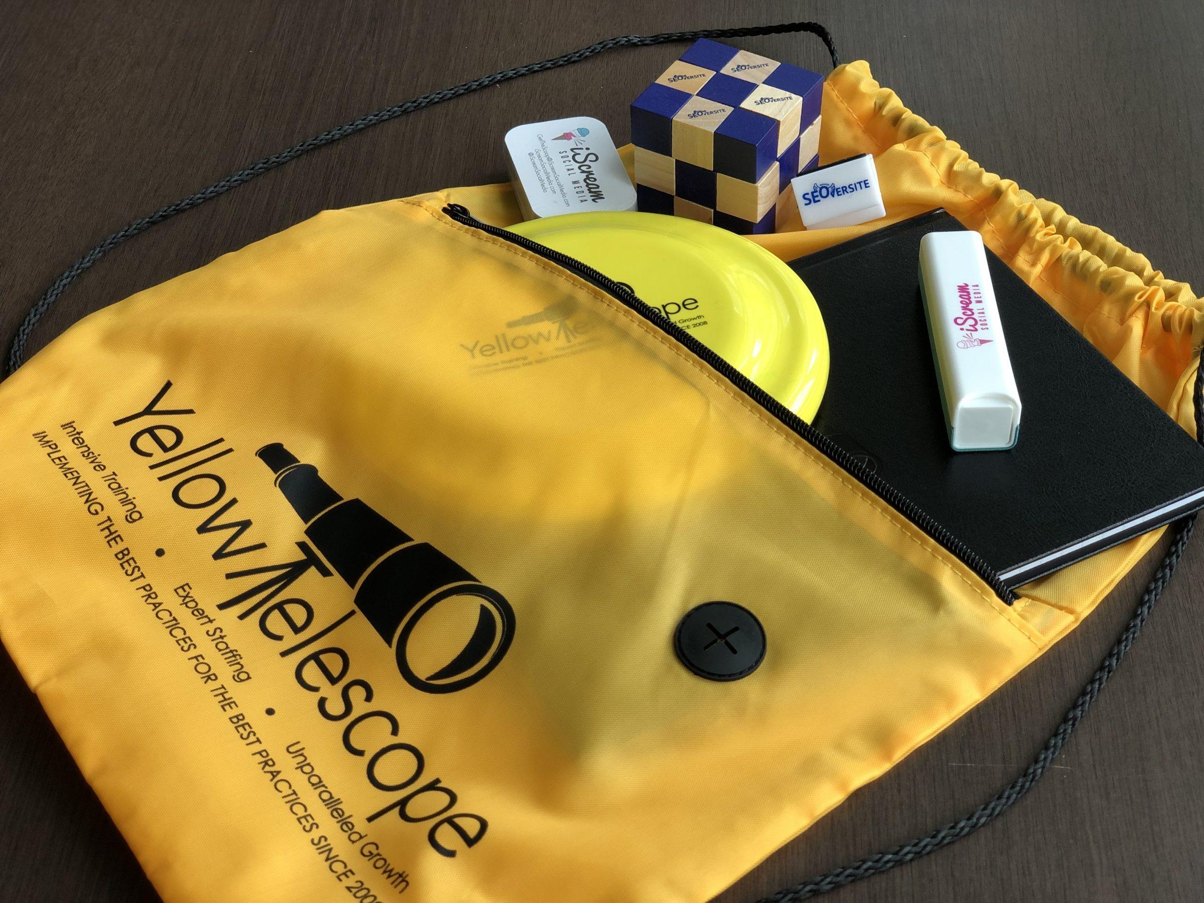 YellowTelescope Swag Bag Practice Management