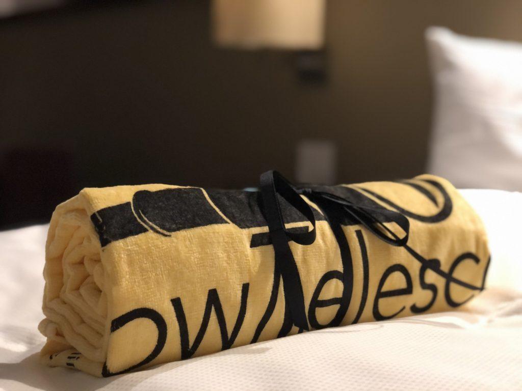 YellowTelescope Towel Seminar Swag