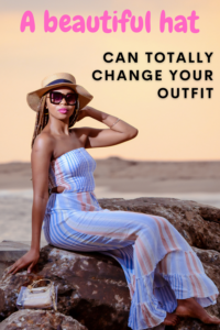 A beautiful hat can totally change your outfit