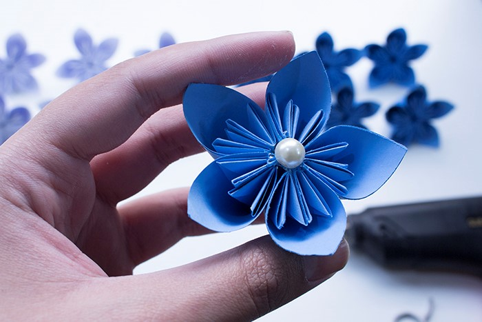 Almost finished the paper flower