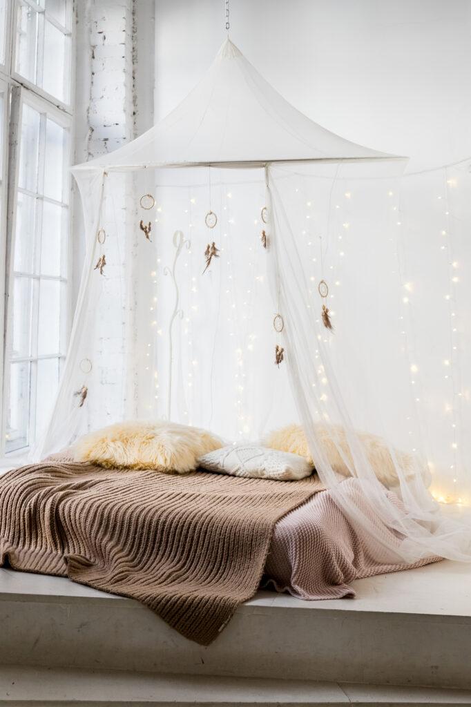 Simplistic yet stylish bedroom