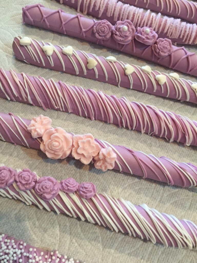 Chocolate Covered Pretzel Rods special gift for mother's Day