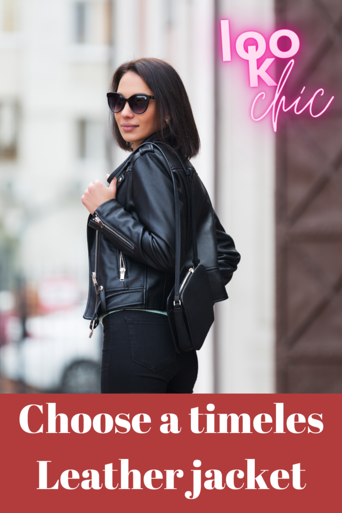 It's impossible to go wrong with a Leather Jacket