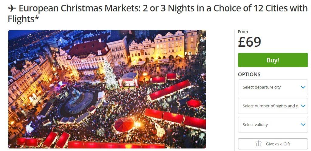 Eauropean christmas market