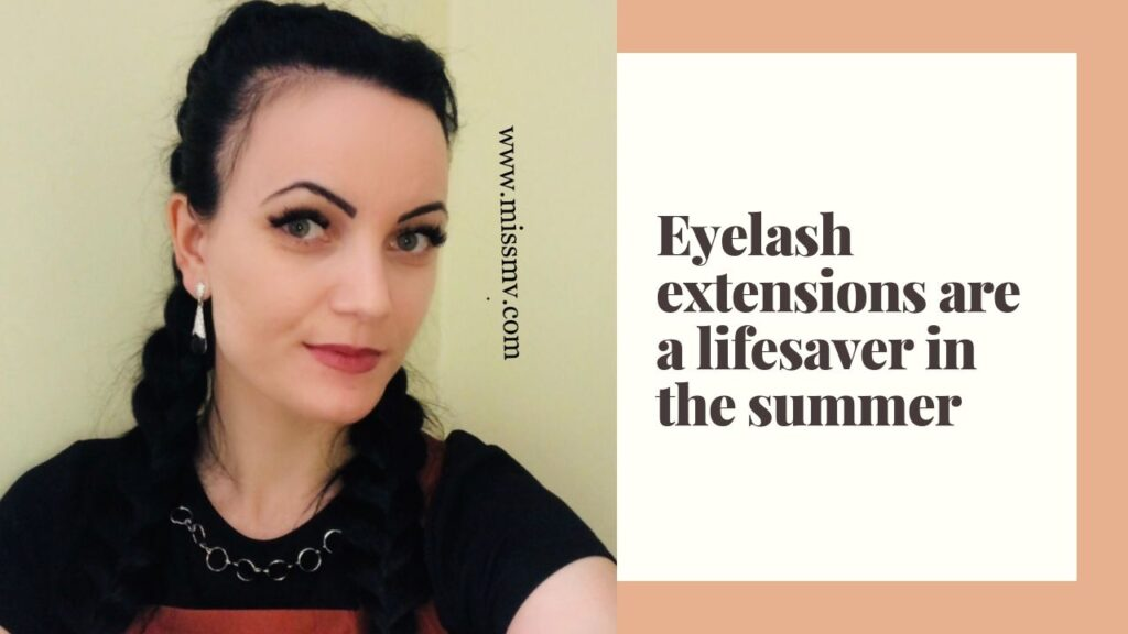 Eyelash extensions are a lifesaver in the summer. Eyelash extensions is a must for summer makeup if you want to look glamorous.