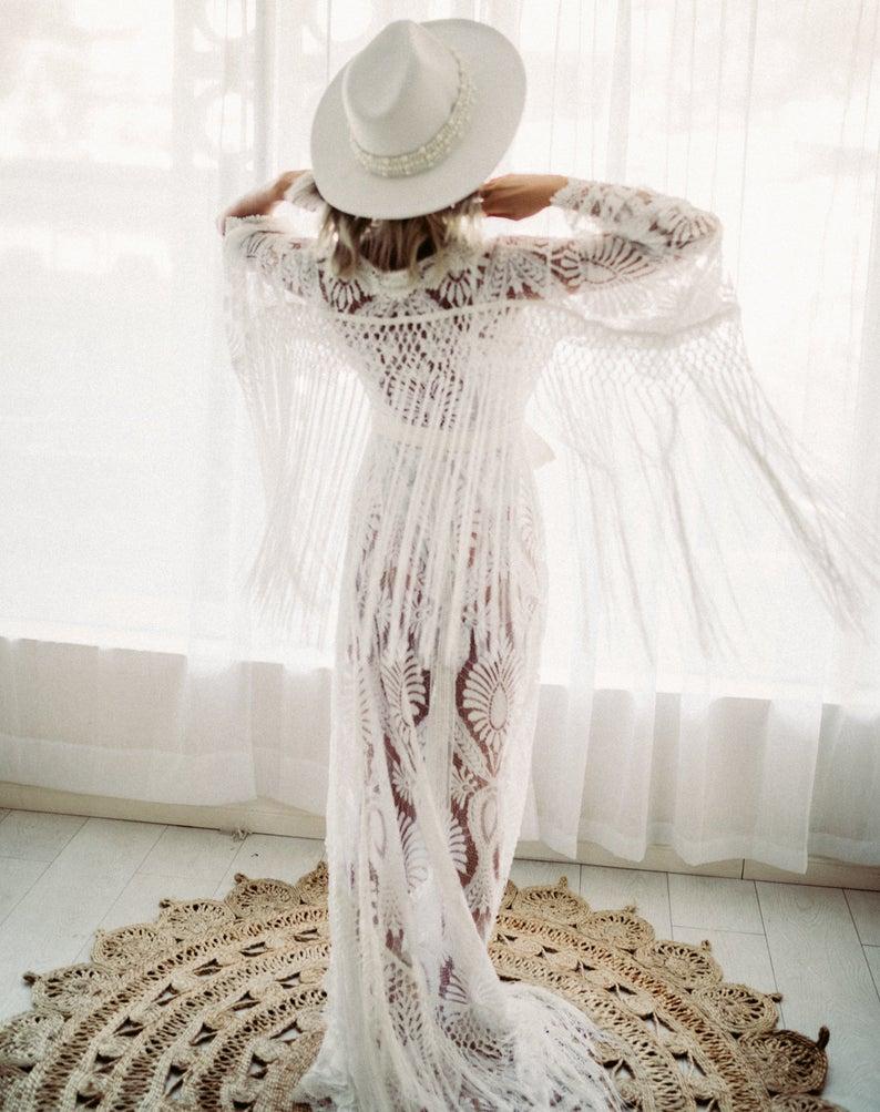 Flutter vintage dress for beach wear