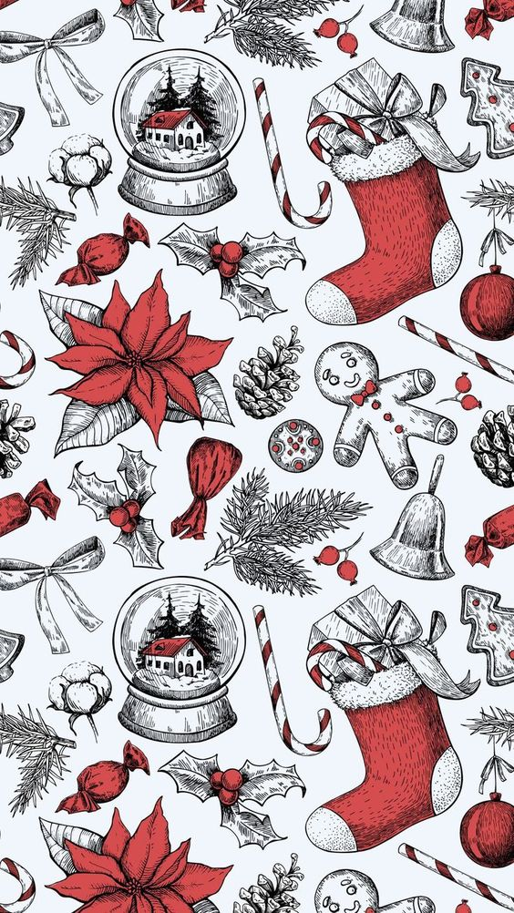 Free to download Christmas wallpaper for smartphone