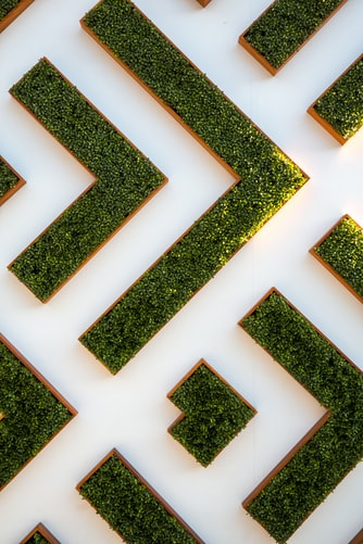 Geometrical summer garden wallpaper background free to download