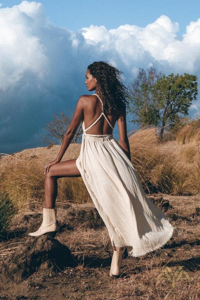 Greek Goddess beach Dress