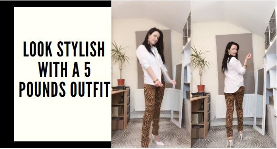 Look stylish with a 5 pounds outfit.