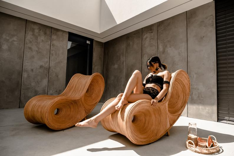 Luxury handcrafted pool chair