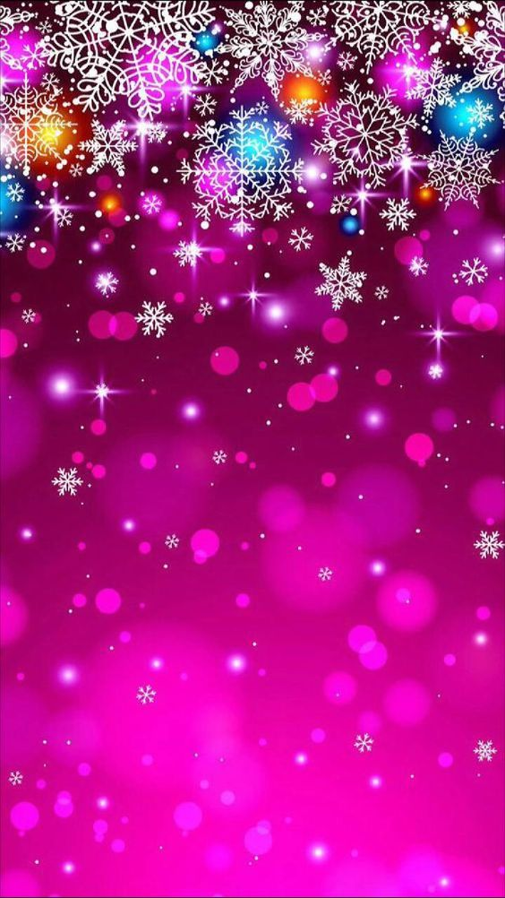 Magical sparkling stars