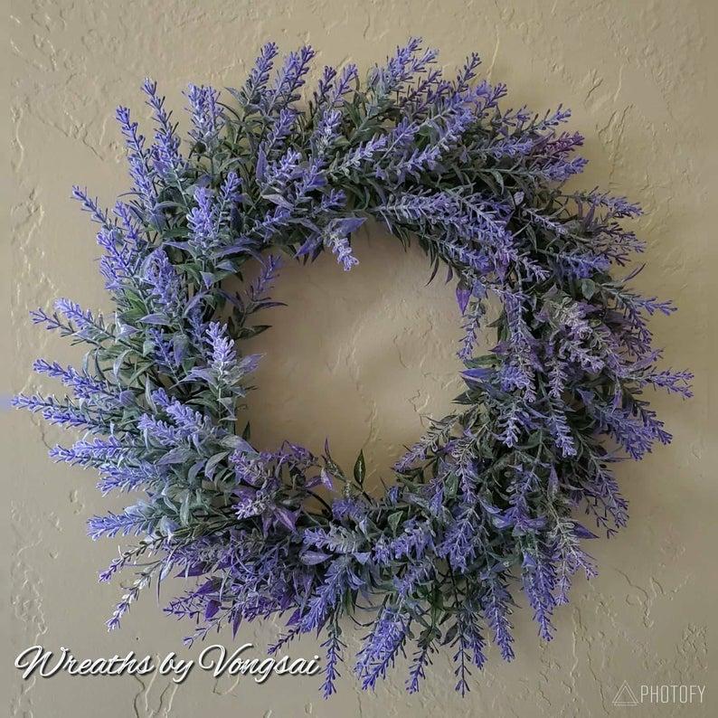 Mini Lavender Wreath