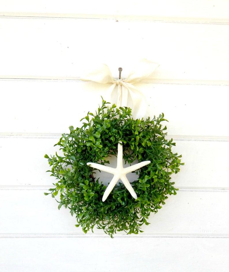 Mini Starfish wreath