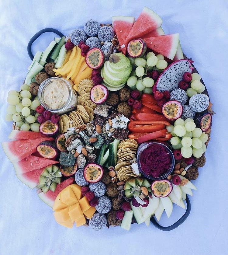 Mixed fruits platter inspiration