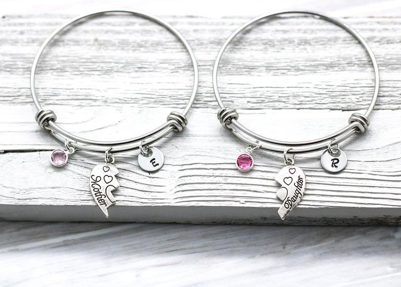 Mother Daughter Matching Bracelets