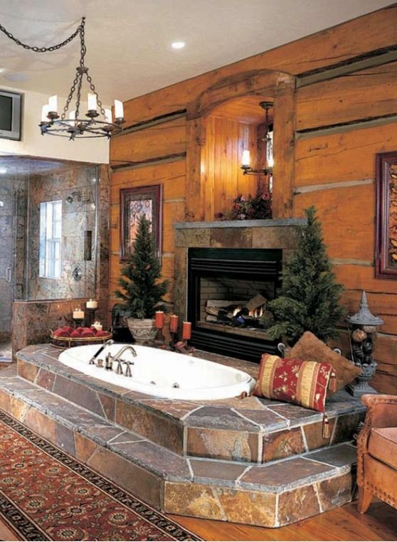 Mountain Cabin with hot tub and fireplace