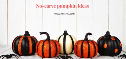 No-carve pumpkin decorating ideas