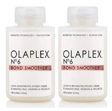 Olaplex No 6 Bond Smoother, 3.3 Ounce Pack Of 2