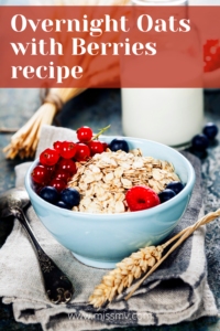Overnight Oats with Berries Recipe