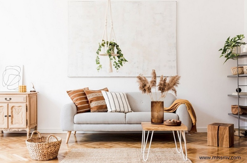 Pampas grass decor ideas for indoor and outdoor