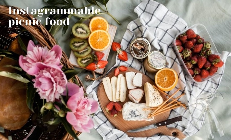 Picnic food ideas for creating cute Instagram content