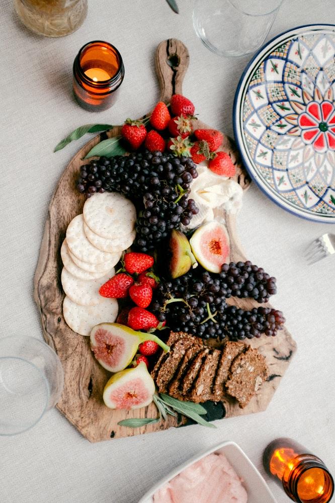Picnic fruit platter