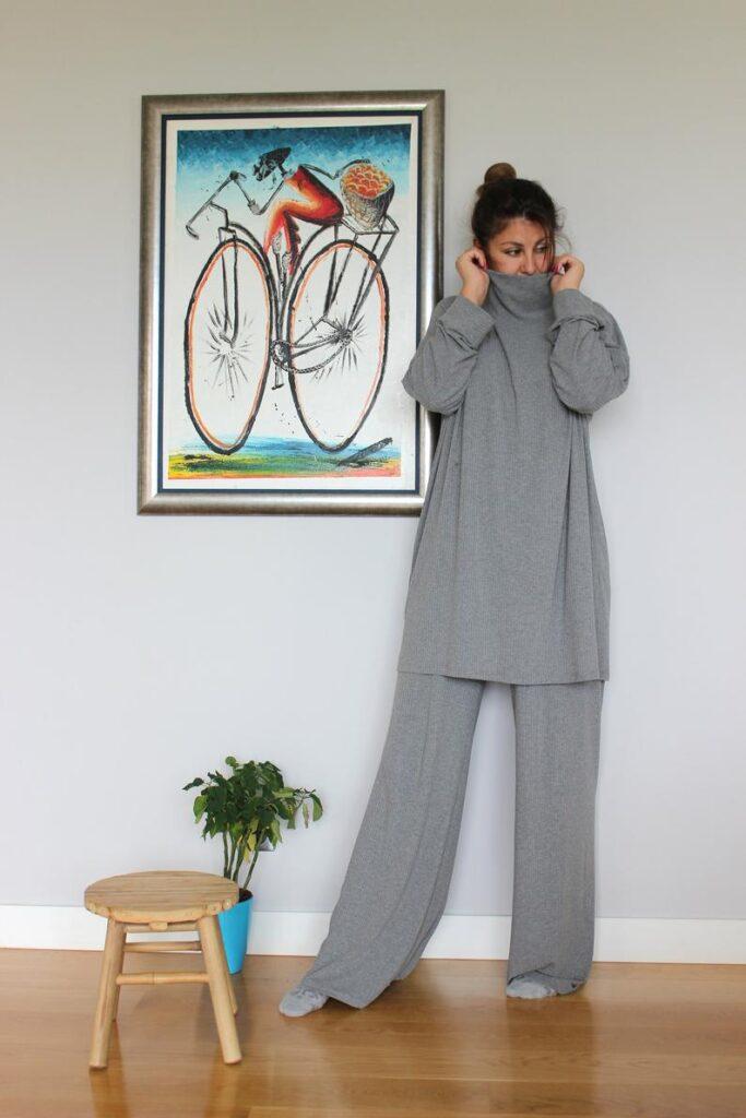 Plus Size Comfort wear -2 pieces Loungewear. Plus size loungewear for mothers day