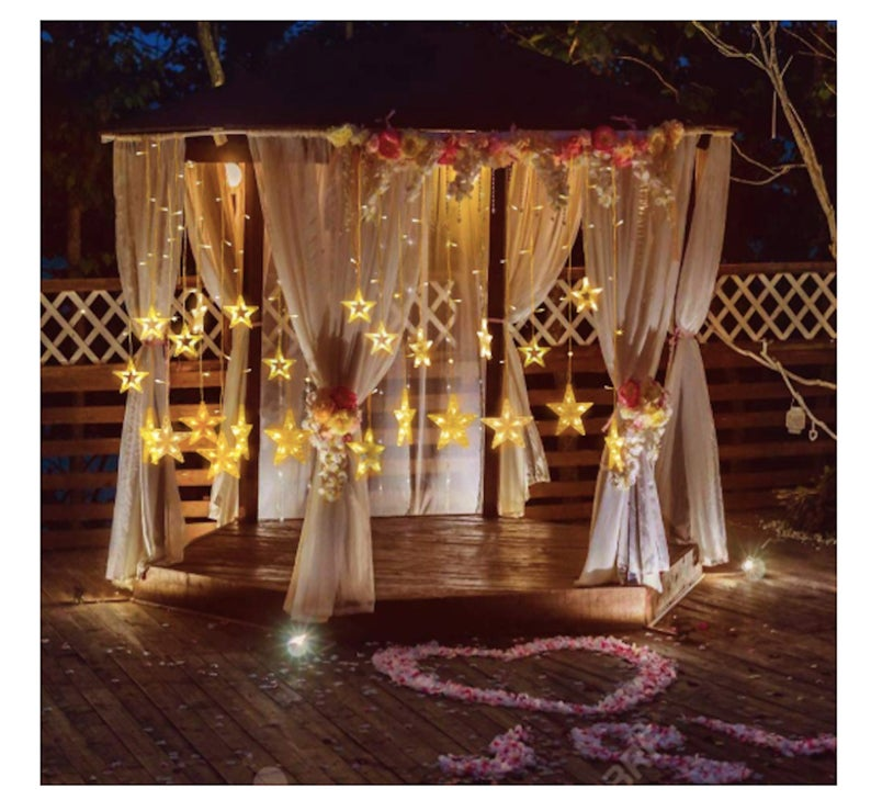 Romantic fairy lights for garden and patio. Outdoor lighting ideas for patio with pictures to get awesome inspiration