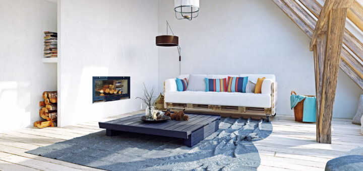Creative ideas to use wood pallets for interior decor and garden